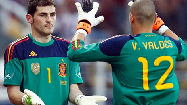 Si Valdés hubiera llegado antes que Casillas, posiblemente el catalán hubiera sido el guardameta titular.