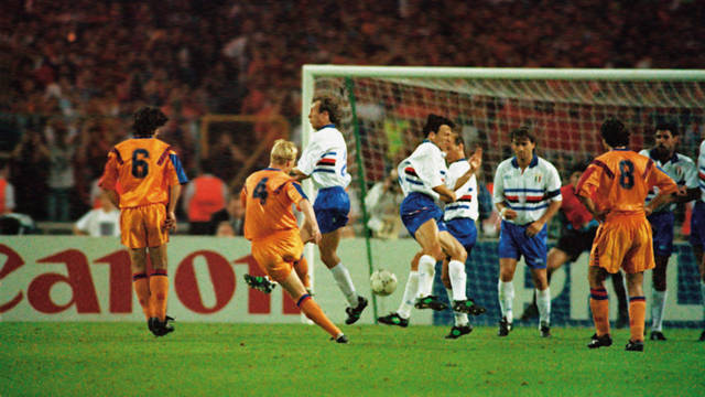 Koeman scored the European Cup 92.