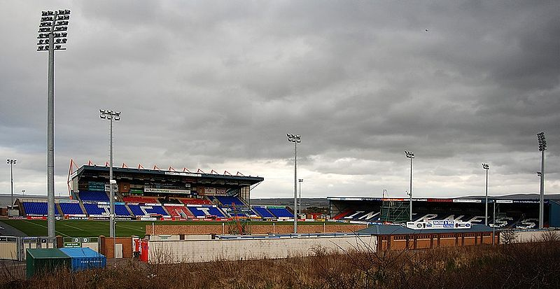 El Caledoniam Stadium es la modesta casa del Inverness.