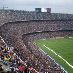The biggest stadiums in Spain