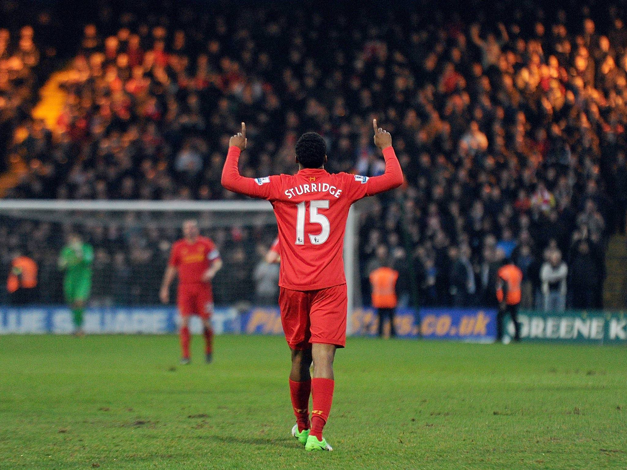 Liverpool leads the Premier pace of Sturridge