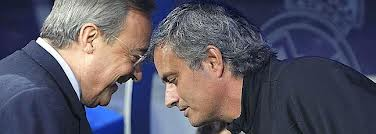 The failure of Mourinho at Real Madrid was evident. Florentino signed him to hit book.