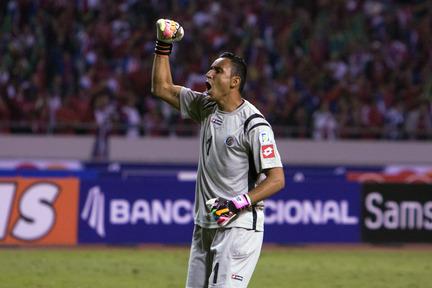 Keylor Navas es el portero de la selección de Costa Rica.