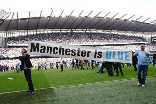 Con la victoria del City frente al United, Manchester es más blue que nunca.