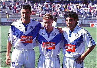 Atletico Celaya with three of the best players in the history of Real Madrid, but with a few more years.
