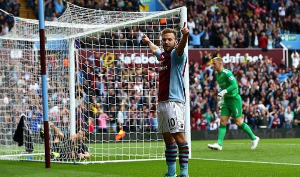 Weiman celebrando su gol en la victoria contra el City.