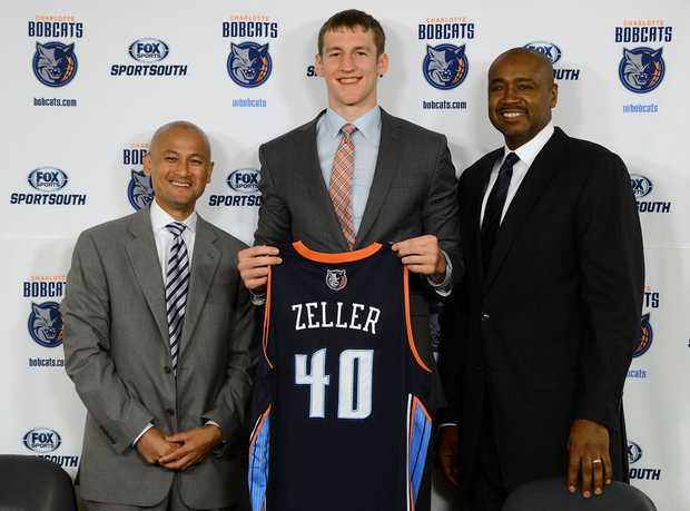 Cody Zeller espera triunfar en la NBA con los Bobcats.