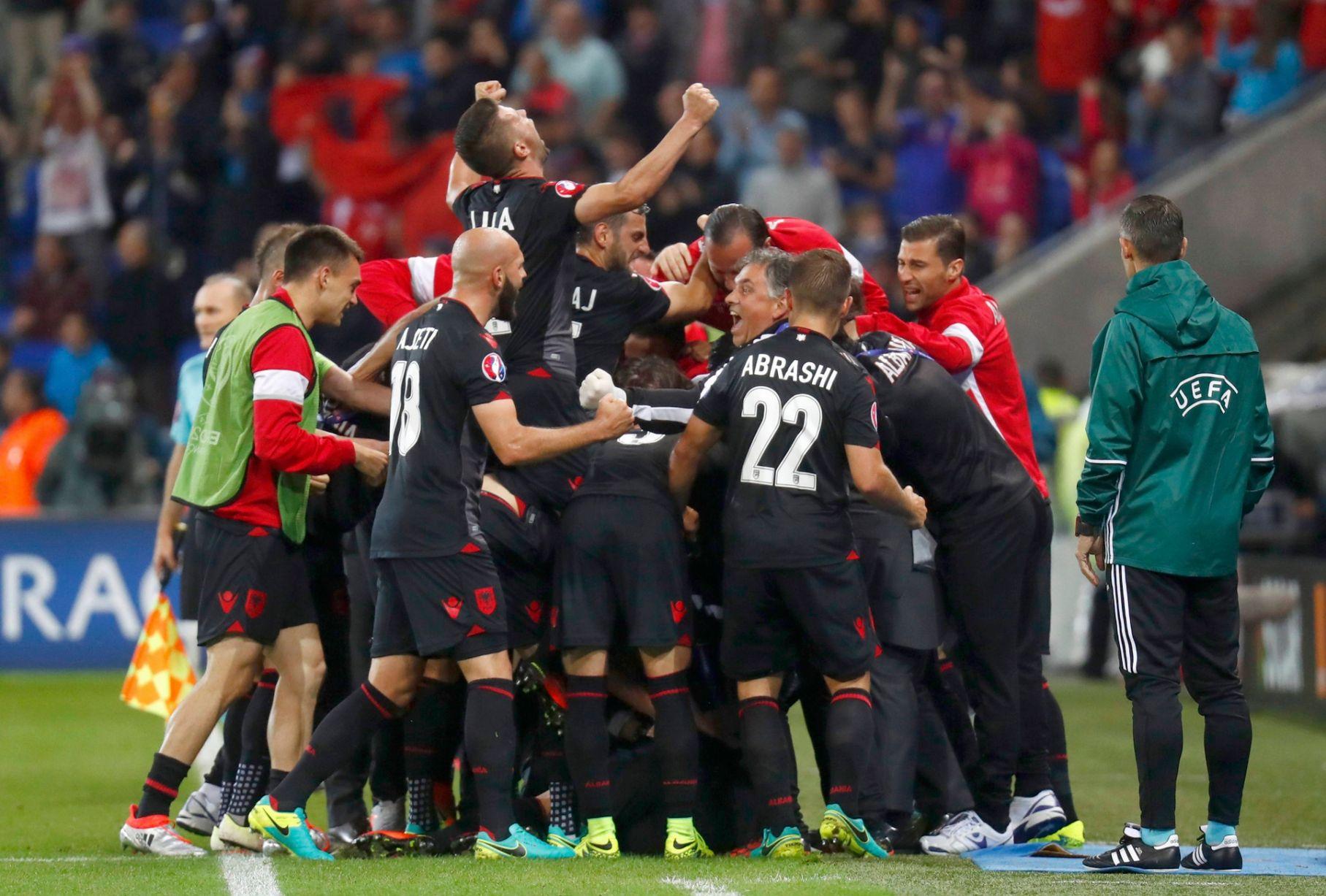 El milagro futbolístico de Albania