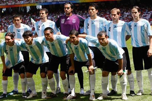 Argentina consiguió el oro olímpico en Pekín 2008.