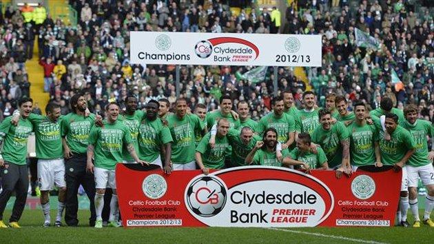 La Liga escocesa sólo presenta un candidato: el Celtic.