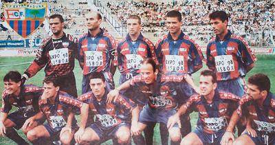 El Extremadura militó dos temporadas en Primera en los 90.