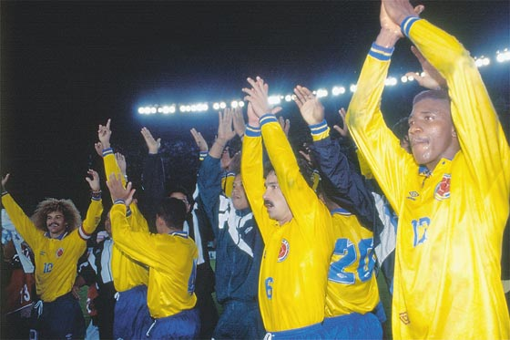 The day that Colombia was Brazil: 20 years of the great rout