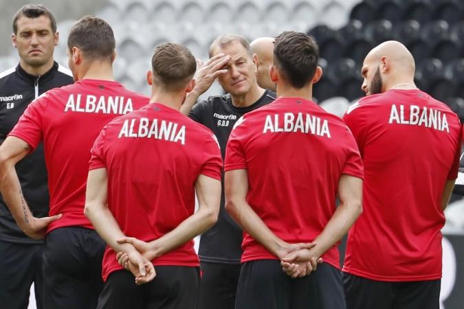 El italiano, ex entrenador del Levante, Gianni De Biasi, el hombre que ha relizado el milagro futbolístico de Albania.