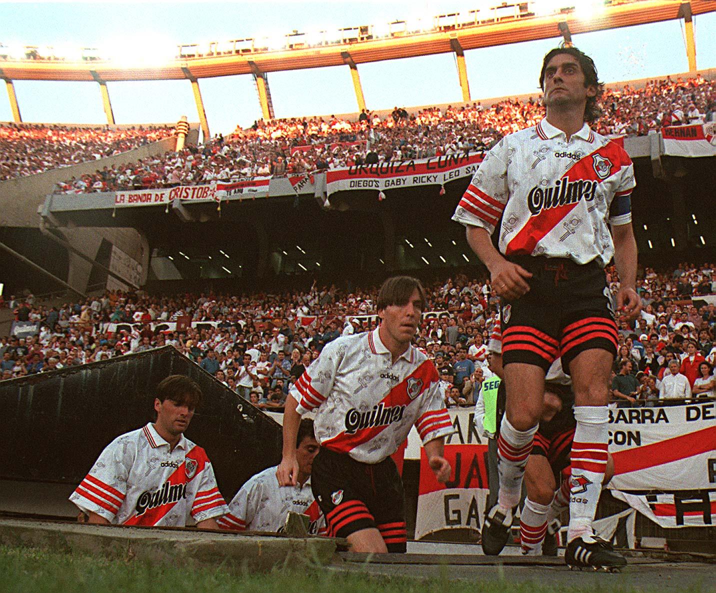 "Enzo Francescoli, the ""The prince"" football"