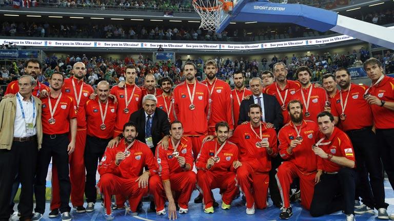 España ha logrado el bronce en el último Europeo.