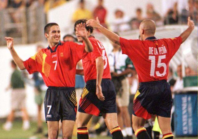 España llevó un equipazo a Atlanta 96.