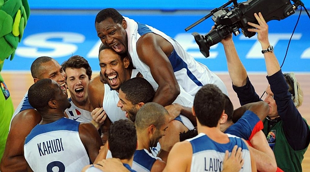 France won for the first time in its history the Eurobasket.