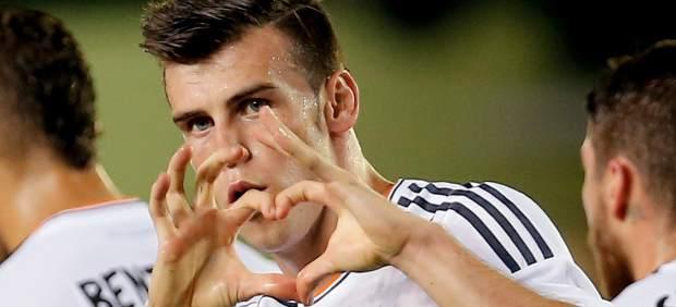 Bale anotó un gol en su debut.