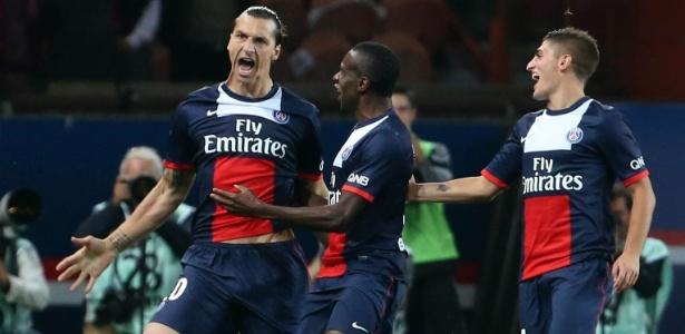 Ibra y Falcao marcaron en el PSG-Mónaco.