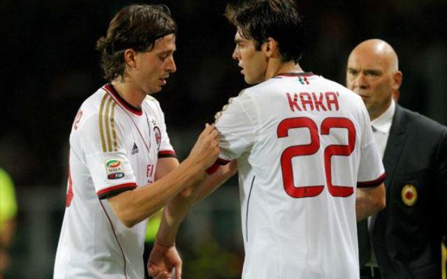 Kaka ejerció de capitán en su reestreno con el Milan.