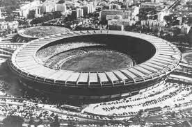 Maracana, Brazilian symbol of the World Cup 1950.