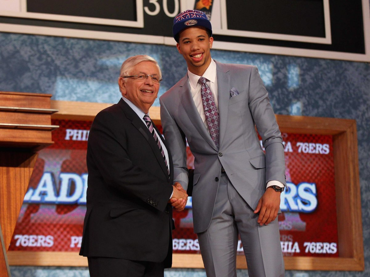 Michael Carter Williams es el elegido de los 76ers.