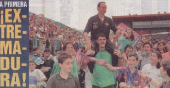 Rafa Benitez amounted to Extremadura.