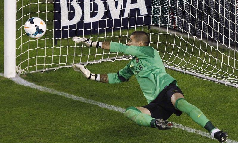 Víctor Valdés es uno de los mejores porteros del mundo ahora mismo.
