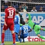 Escandaloso gol ilegal concedido en la Bundesliga