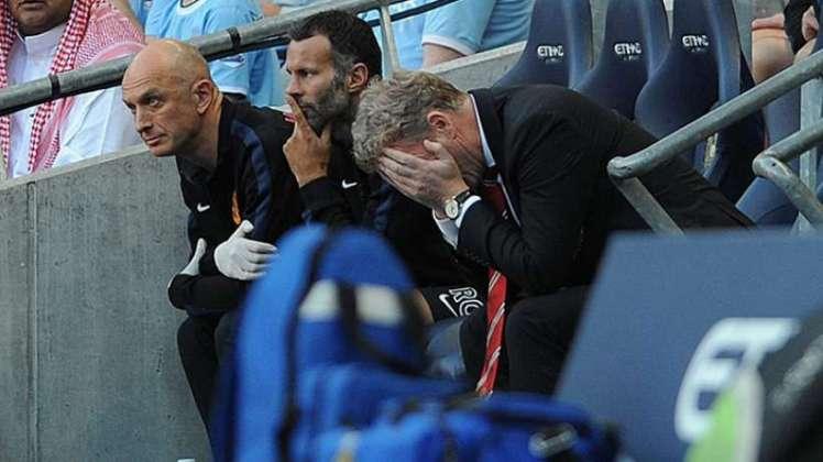 David Moyes no consigue enderezar el rumbo del United.