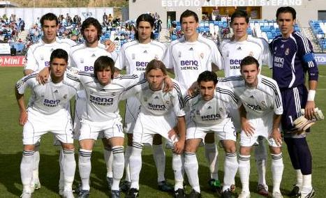 Miren esta alineación del Castilla. Casi todos están en la élite pero ninguno ha triunfado en el Real Madrid.
