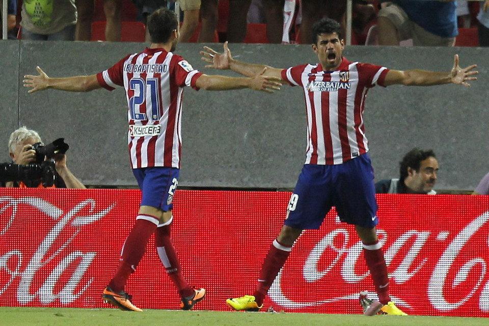 El Atlético ha empezado como una moto.