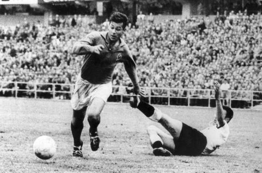Just Fontaine, the top scorer in World Cup history