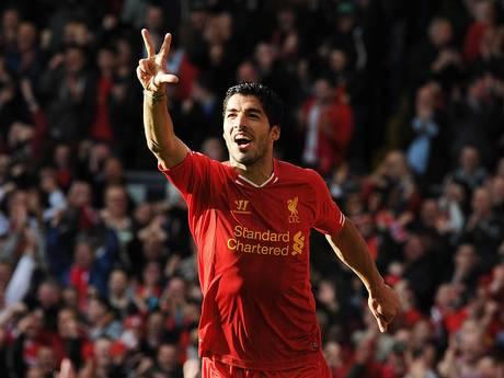 Tres fueron los goles que anotó Luis Suárez.