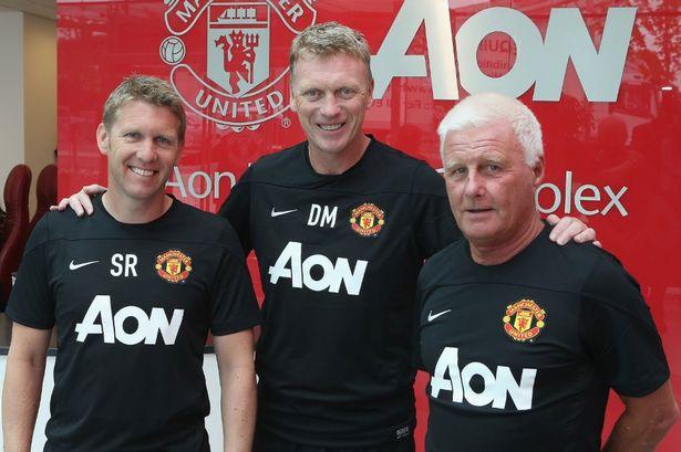 David Moyes ha confiado en su propio equipo técnico en su etapa en el Manchester United.