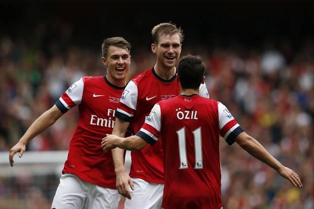 El Arsenal es el primero en la Premier.