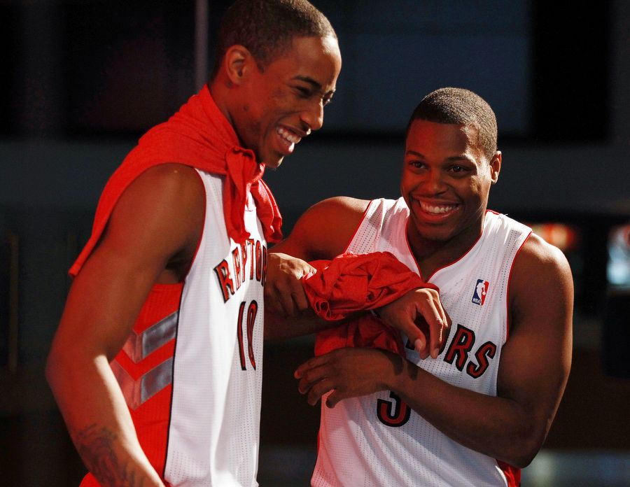 Demar De Rozan and Kyle Lowry will be the stars in the Canadian team.