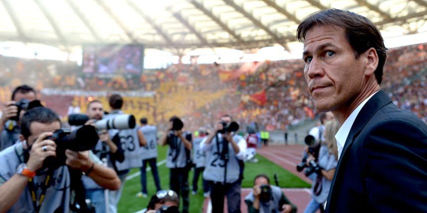 "El ""Sargento"" Rudi Garcia leads the way of Roma with success."