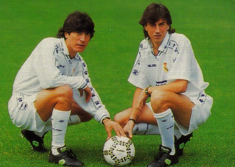 José Emilio Amavisca y Iván Zamorano fueron los mejores. En verano estaban descartados.