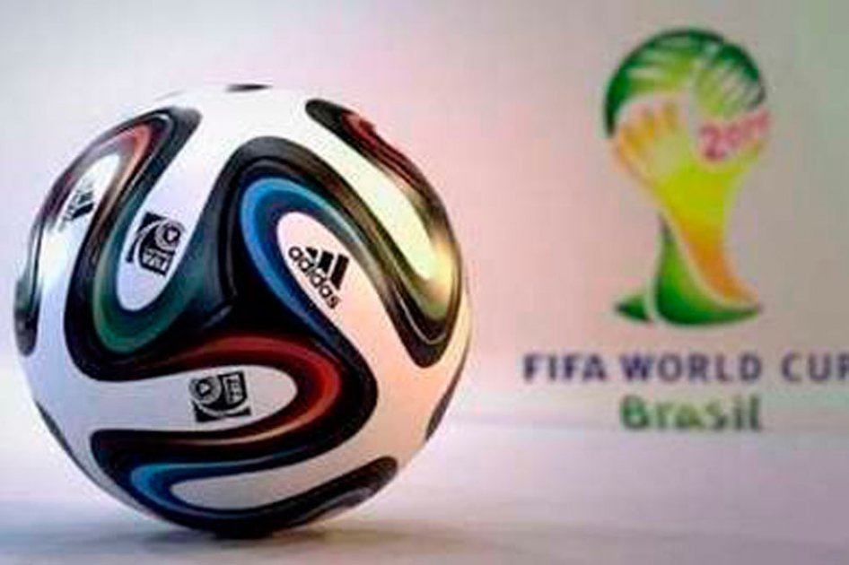 El Brazuca será blanco con toques negros, azules, rojos y verdes.