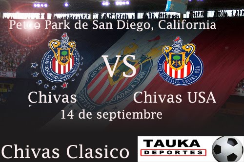 The ChivaClásico faces two Chivas.