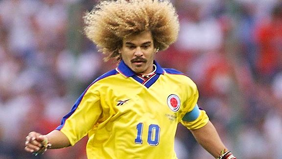 Valderrama is the only Colombian who has played three World.