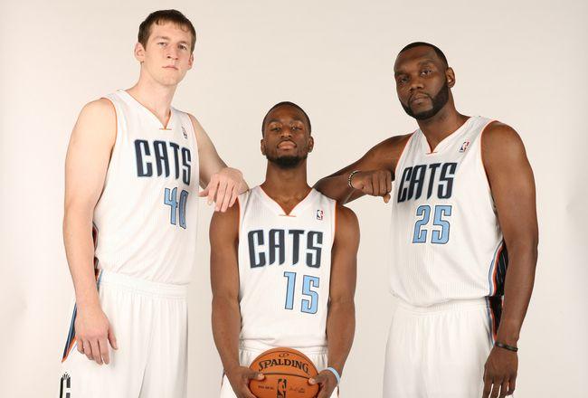 From left to right: Zeller, Walker y Jefferson son la máximas esperanzas para los Hornets.