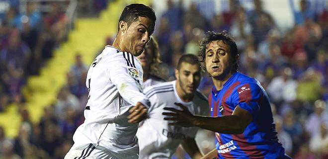 Cristiano marcó el gol decisivo.