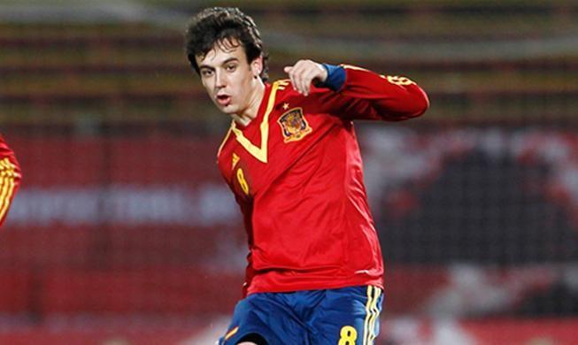 Pardo ha debutado esta temporada con la selección Sub-21.