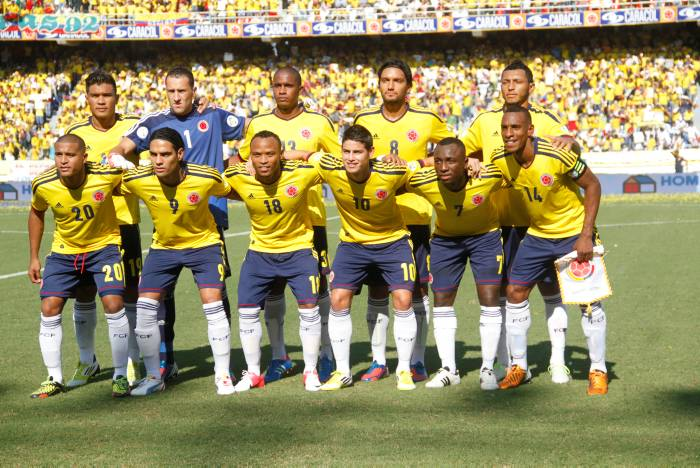 Colombia has high hopes for his national team.