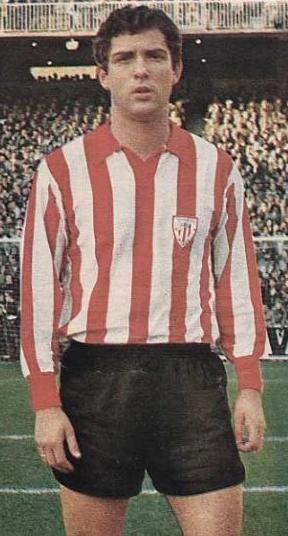 Villar fue jugador del Athletic diez temporadas.