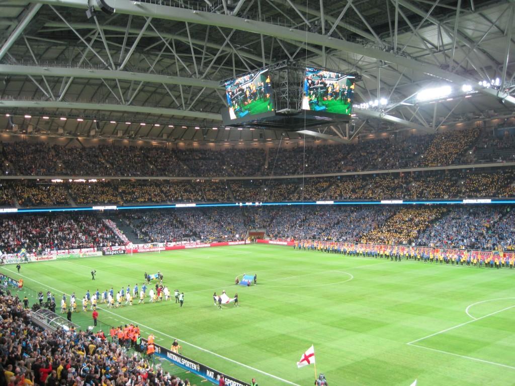 El Friends Arena es la casa de Suecia.