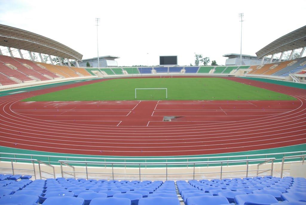 El Estadio Nacional de Laos cuenta con capacidad para 35.000 personas.