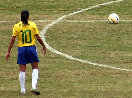 Marta, la Pelé femenina.